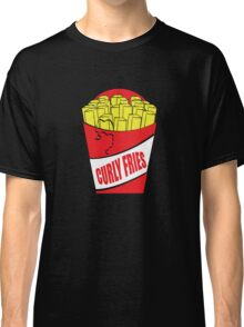 Funny Shirt - Curly Fries Classic T-Shirt