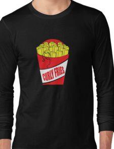 Funny Shirt - Curly Fries Long Sleeve T-Shirt