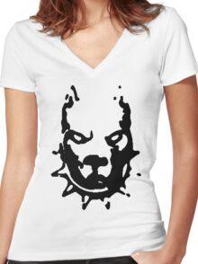 PITBULL TERRIER Women's Fitted V-Neck T-Shirt