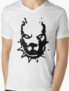 PITBULL TERRIER Mens V-Neck T-Shirt