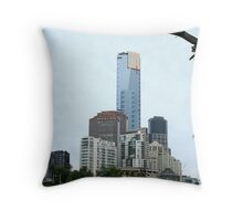 Eureka Tower, Melbourne Throw Pillow