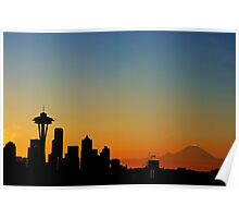 A Northwest Morning. Poster