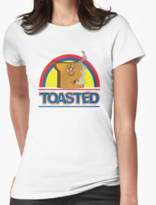 Funny Shirt - Toasted Womens Fitted T-Shirt