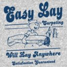 Funny Shirt - Easy Lay by MrFunnyShirt