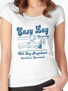 Funny Shirt - Easy Lay Women's Fitted Scoop T-Shirt