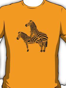 Funny Shirt - Two Headed Zebra T-Shirt
