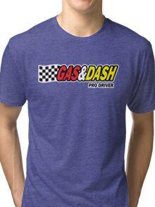 Funny Shirt - Gas and Dash Tri-blend T-Shirt