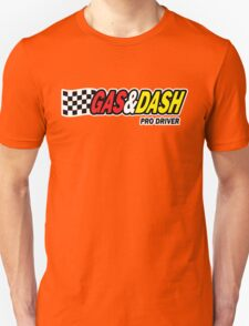 Funny Shirt - Gas and Dash Unisex T-Shirt