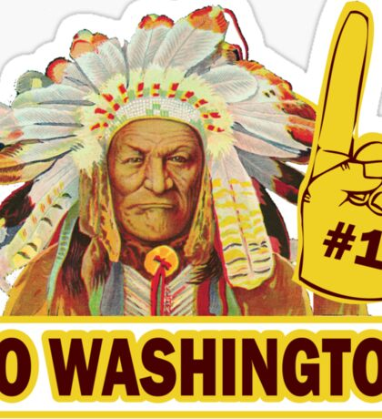 Funny Shirt - Go Washington Sticker