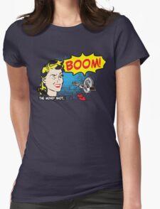 Funny Shirt - Money Shot Womens Fitted T-Shirt