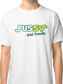 Funny Shirt - Eat Fresh Classic T-Shirt