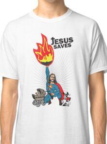 Funny Shirt - Jesus Saves Classic T-Shirt