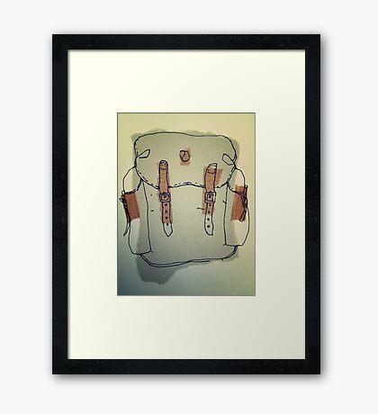 rucksack 3 Framed Print