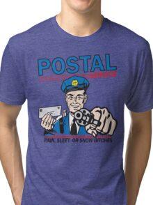 Funny Shirt - Postal Tri-blend T-Shirt