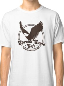Funny Shirt - Spread Eagle Cafe Classic T-Shirt