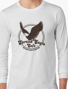 Funny Shirt - Spread Eagle Cafe Long Sleeve T-Shirt