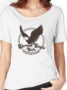 Funny Shirt - Spread Eagle Cafe Women's Relaxed Fit T-Shirt