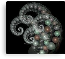 Pearl Curls Canvas Print