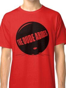Funny Shirt - The Dude Abides Classic T-Shirt