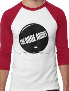 Funny Shirt - The Dude Abides Men's Baseball ¾ T-Shirt