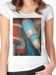 floats Women's Fitted Scoop T-Shirt