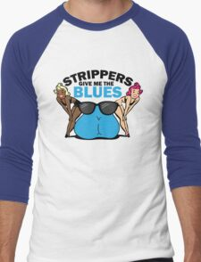 Funny Shirt - Strippers Men's Baseball ¾ T-Shirt