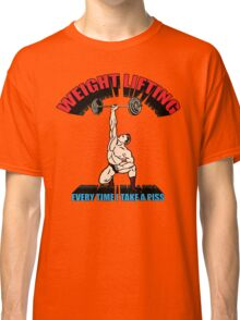 Funny Shirt - Weight Lifting Classic T-Shirt