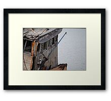 Bridge of the Mary D. Hume Framed Print