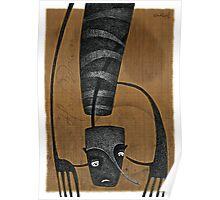HANDSDOWN 2 - 'Snakeskin Sketchbook' series Poster