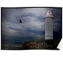 Lonely Lighthouse!  Poster