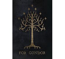 For Gondor (Grunge) Photographic Print