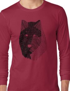 Wolf Mask Long Sleeve T-Shirt