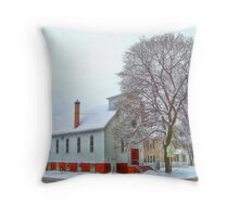 A Victorian Winter Throw Pillow