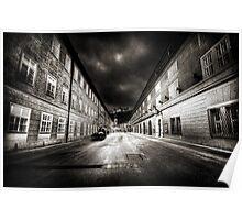 Stormy Salzburg Poster