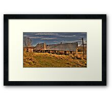 Click Go The Shears #2 - On The Road To Oberon, NSW Australia - The HDR Experience Framed Print