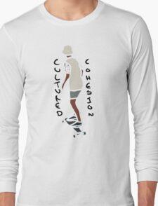 Abstract Skateboard Rider Long Sleeve T-Shirt