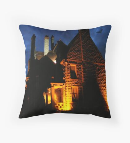 Spooky !!!! - please view large Throw Pillow
