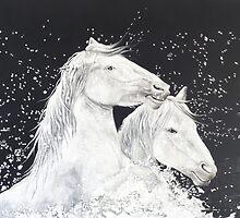 Challenging Poseidon by Carol Gorenko