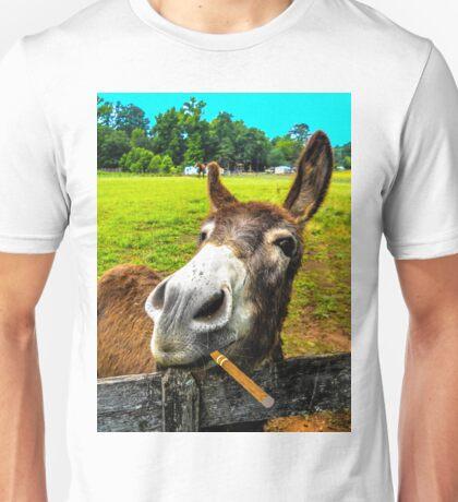 DONKEY AND A STOGIE Unisex T-Shirt