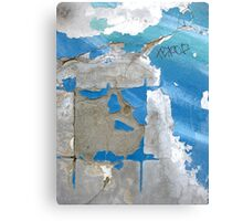 an easel to paint the ocean Canvas Print