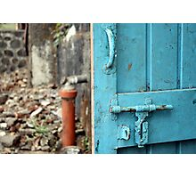 Back Door to the Kitchen Photographic Print
