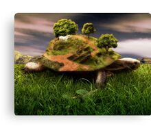 The Weight Upon My Shoulders Canvas Print