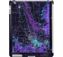 USGS Topo Map Oregon Eugene 282483 1946 62500 Inverted iPad Case/Skin