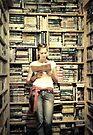 Books are lighthouses...   by Carol Knudsen