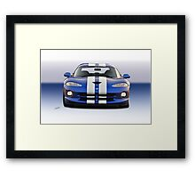 1995 Dodge Viper GTS VS3 Framed Print