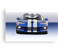 1995 Dodge Viper GTS VS3 Canvas Print