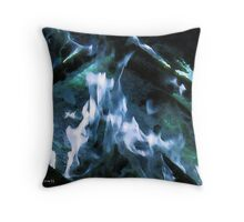 Flames of peace Throw Pillow