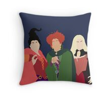 Sanderson Sisters Throw Pillow
