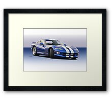 1995 Dodge Viper GTS VS1 Framed Print
