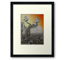 Connection With The Earth Framed Print